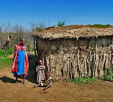 Masai Mara house by Adri  Padmos