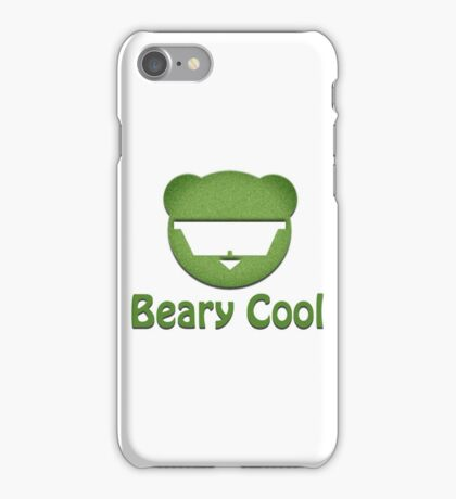Beary Cool iPhone Case/Skin