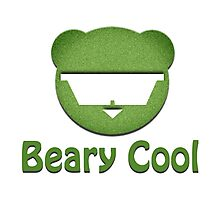 Beary Cool Photographic Print