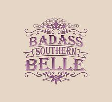 Badass Southern Belle Womens Fitted T-Shirt