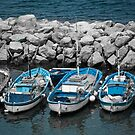 At Anchor - Sorrento, Italy by rjhphoto