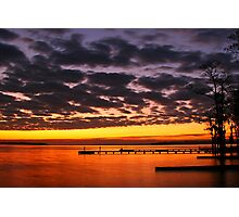 Pamlico Time Lapse Photographic Print