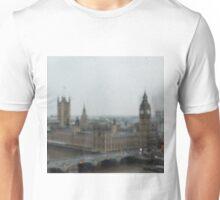 Big Ben on a Rainy Day Unisex T-Shirt