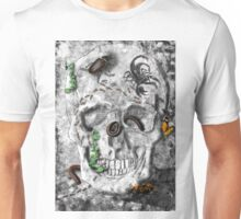 Skull With Multiple Insects Unisex T-Shirt