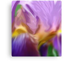 Orchid Abstract Canvas Print