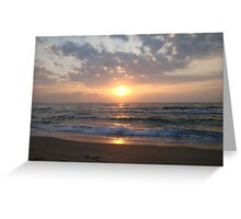 Shine Through The Clouds Greeting Card