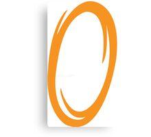 Portal-Orange Canvas Print