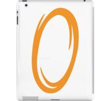 Portal-Orange iPad Case/Skin