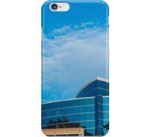 Buildings, shadows, sky iPhone Case/Skin