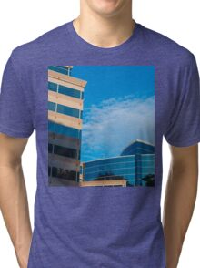 Buildings, shadows, sky Tri-blend T-Shirt