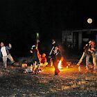 Bonfire by the RR Tracks by Todd Smith