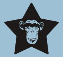 Monkey Superstar Baby Tee