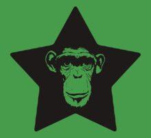 Monkey Superstar One Piece - Short Sleeve