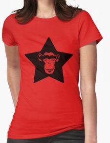 Monkey Superstar Womens Fitted T-Shirt