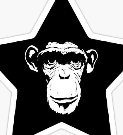 Monkey Superstar Sticker
