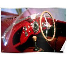 Dreams of Alfa-Romeo - Disco Volante spider Poster