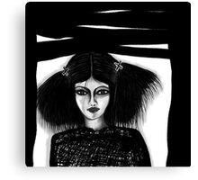 Black Window Updated Canvas Print