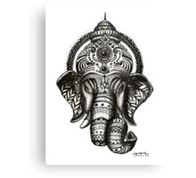 Ganesha - Hindu God of Wisdom Canvas Print