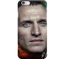 Christopher Eccleston - Former Doctor Who Portrait Painting iPhone Case/Skin