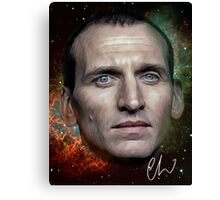 Christopher Eccleston - Former Doctor Who Portrait Painting Canvas Print
