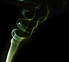 Smoke Gold Rings by bradlentz-photo