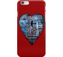 Henry VIII Valentine Shirt iPhone Case/Skin