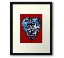 Henry VIII Valentine Shirt Framed Print
