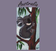 Cute Koala Australia Kids Clothes