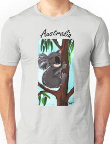 Cute Koala Australia Unisex T-Shirt