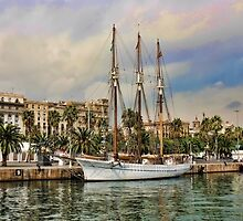 An Evening at Port Vell  , Barcelona  by Alex Hardie