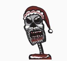 Zombie Santa  by Rajee