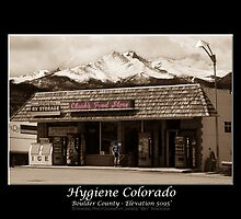 Hygiene Colorado Fine Art Poster by Bo Insogna