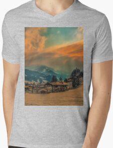 a stunning Austria landscape Mens V-Neck T-Shirt