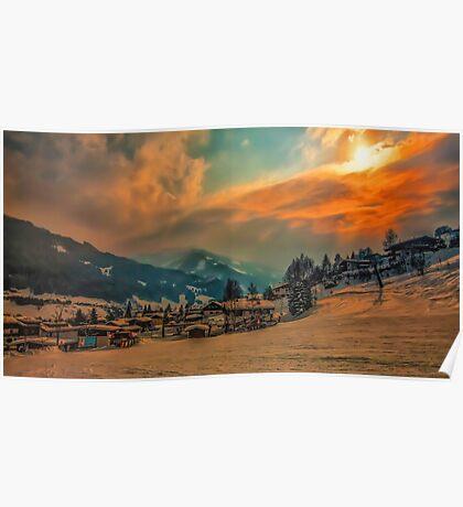 a stunning Austria landscape Poster