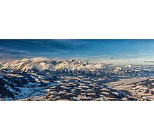a historic Austria landscape Photographic Print