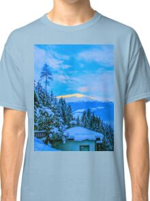 a colourful Austria landscape Classic T-Shirt