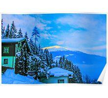 a colourful Austria landscape Poster