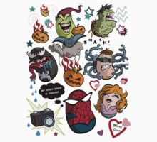 Spidey and Friends Kids Tee