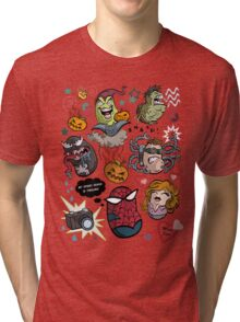 Spidey and Friends Tri-blend T-Shirt