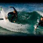 Surfer 4 point turn by bradlentz-photo