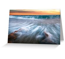 """Rapid Movement"",Point Roadknight,Anglesea,Great Ocean Road,Australia  Greeting Card"