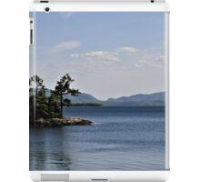 A nice view iPad Case/Skin