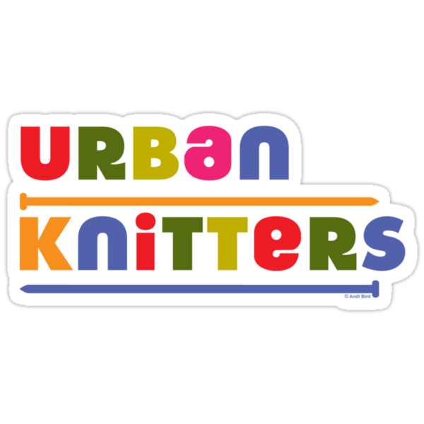 Urban Knitters - golden by Andi Bird
