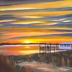 &quot; Bowens Island Sunset &quot; Charleston SC by Matthew Campbell