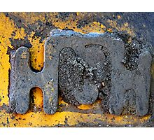 industrial letter to santa Photographic Print