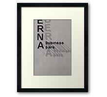 A business park Framed Print