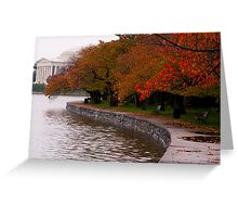 Rainy Fall Day Greeting Card