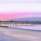&quot; Folly Beach Pier &quot; Folly Beach SC USA by Matthew Campbell