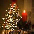 Christmas Candle by Mark Van Scyoc