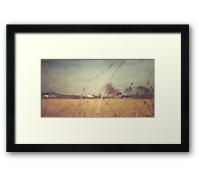 A Red Guest Framed Print